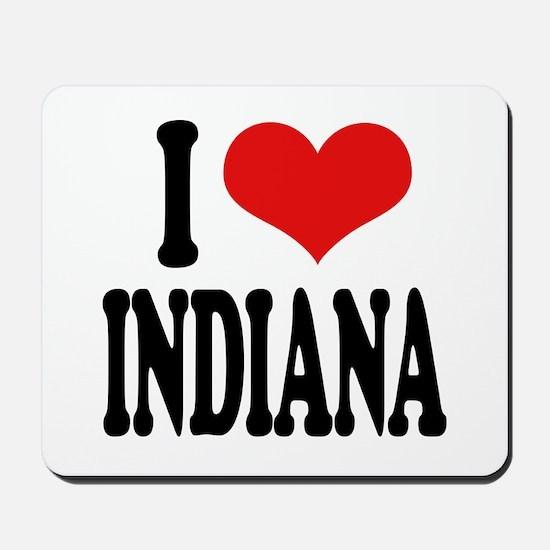 I Love Indiana Mousepad