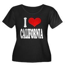 I Love California Women's Plus Size Scoop Neck Dar