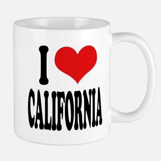 I Love California Mug