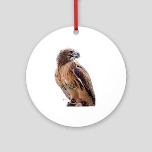 Red Tail Hawk (3) Keepsake (Round)