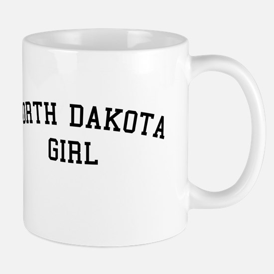 North Dakota Girl Mug