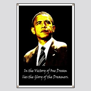 Obama Victory of a Dream Banner