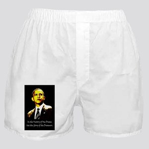 Obama Victory of a Dream Boxer Shorts