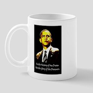 Obama Victory of a Dream Mug