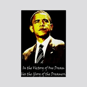 Obama Victory of a Dream Rectangle Magnet