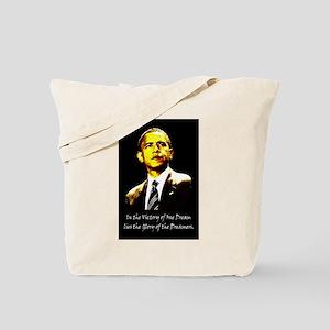 Obama Victory of a Dream Tote Bag
