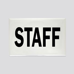Staff Rectangle Magnet