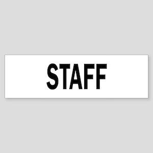 Staff Bumper Sticker