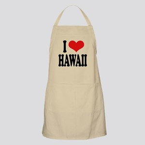 I Love Hawaii BBQ Apron