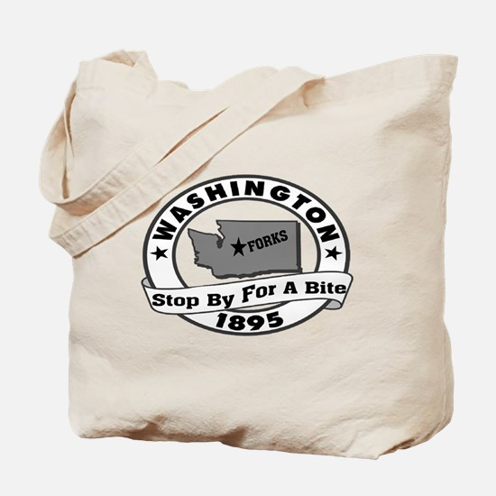 Forks Bite (twilight) Tote Bag