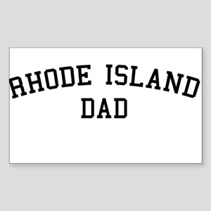 Rhode Island Dad Rectangle Sticker