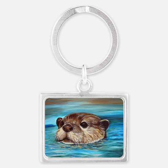 Cute Animal Landscape Keychain