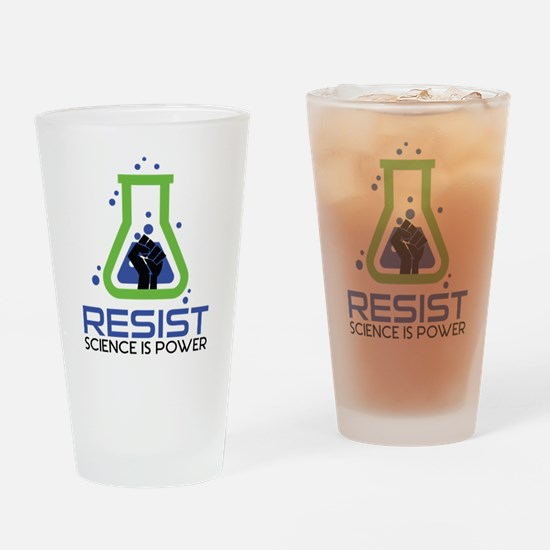 March For Science Drinking Glass