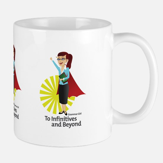 Grammar Girl To Infinitives Mug