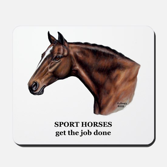 Sport Horse Mousepad