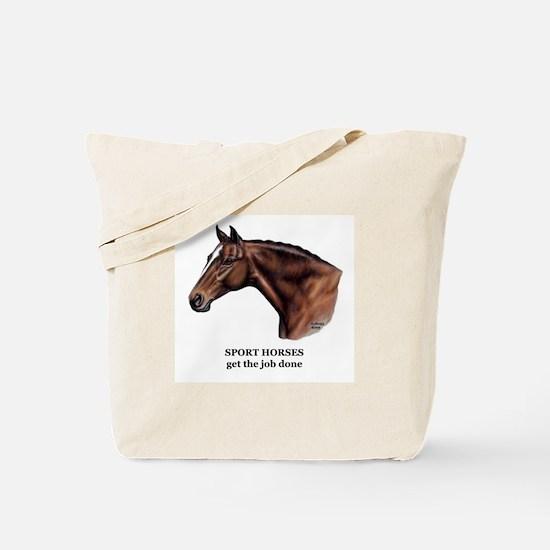 Sport Horse Tote Bag