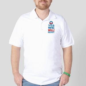 Anti Obama Golf Shirt