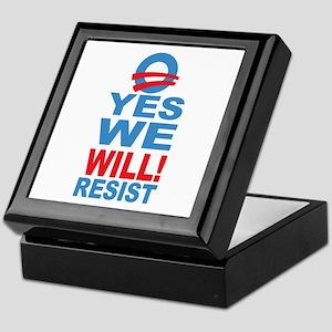 Anti Obama Keepsake Box