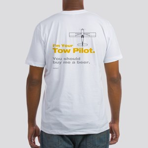 Tow Pilot - Beer: Fitted T-Shirt