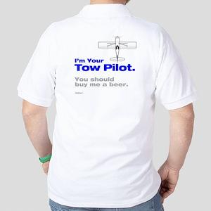 Tow Pilot - Beer: Golf Shirt