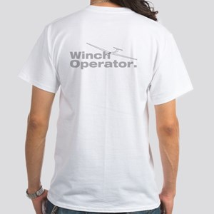 Winch Operator: White T-Shirt