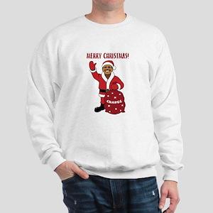 Merry Christmas Obama Sweatshirt