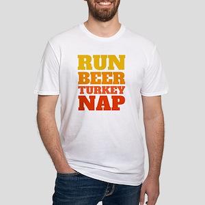 Run Beer Turkey Nap T-Shirt, 2018 Thanksgi T-Shirt