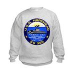 USS HARDHEAD Kids Sweatshirt