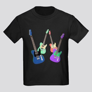 Tele Cast Black II Kids Dark T-Shirt