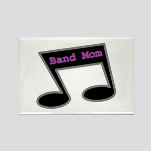 Music Note Band Mom Rectangle Magnet