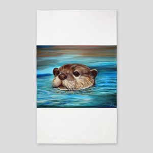 River Otter Area Rug