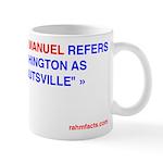 """Mug: """"Fucknutsville"""""""