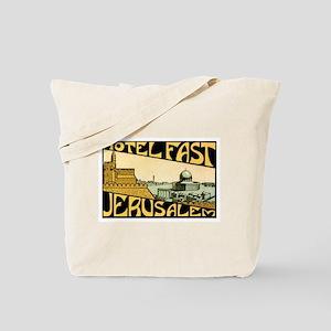Jerusalem Israel Tote Bag
