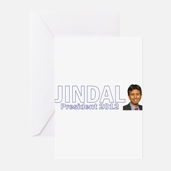 Jindal for President 2012 Greeting Cards (Pk of 10