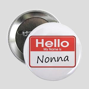"Hello, My name is Nonna 2.25"" Button"