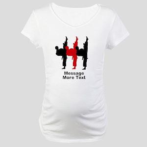 Martial Arts Maternity T-Shirt