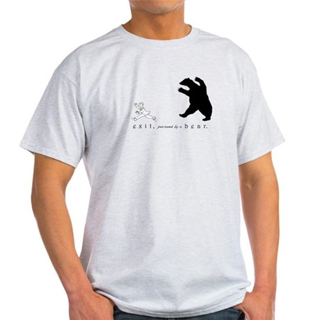 Exit, Pursued By A Bear - Light T-Shirt