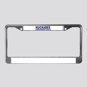 Huckabee for President 2012 License Plate Frame