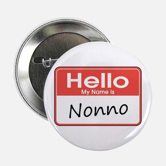 """Hello, My name is Nonno 2.25"""" Button"""