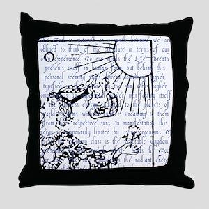 Tarot Key 0 - The Fool Throw Pillow