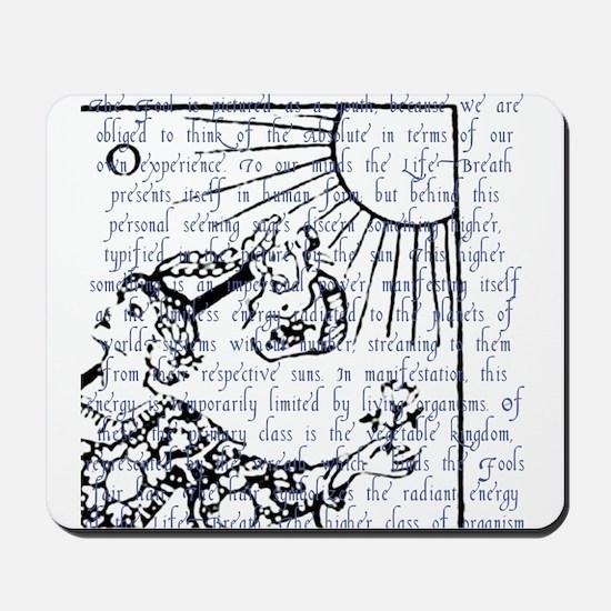 Tarot Key 0 - The Fool Mousepad