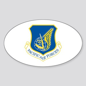 Pacific Air Forces Oval Sticker