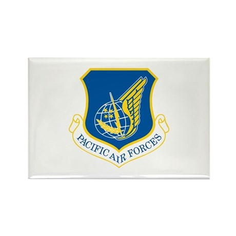 Pacific Air Forces Rectangle Magnet (10 pack)