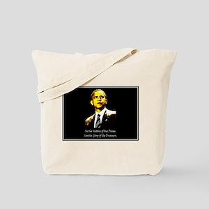 Obama Victory Tote Bag