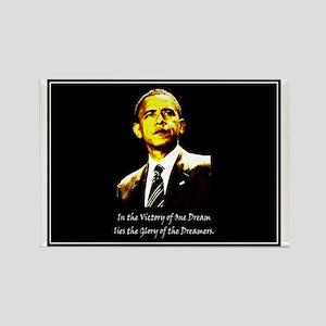 Obama Victory Rectangle Magnet