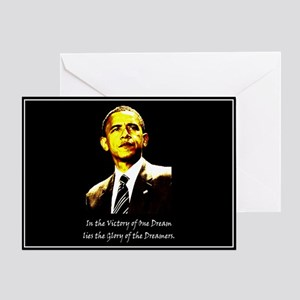 Obama Victory Greeting Card