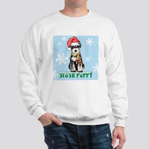 Holiday Miniature Schnauzer Sweatshirt