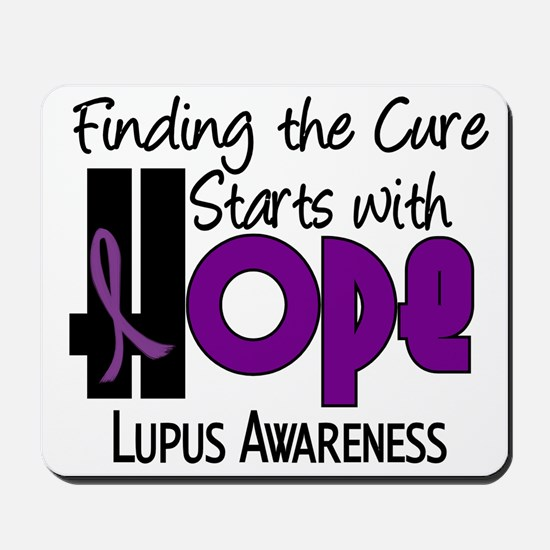 HOPE Lupus 4 Mousepad