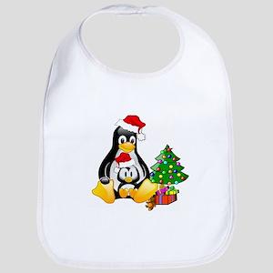 Its a Tux Christmas Bib