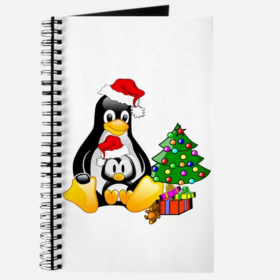 Its a Tux Christmas Journal